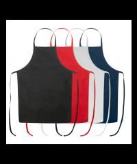 Cotton apron in different colors
