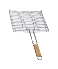 Stainless steel grill grate with anti-stick coating