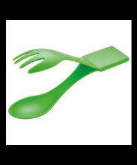 Multifunctional cutlery in plastic